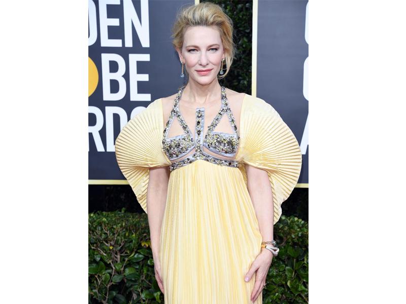 Golden Globes 2020 Cate Blanchett Pomellato
