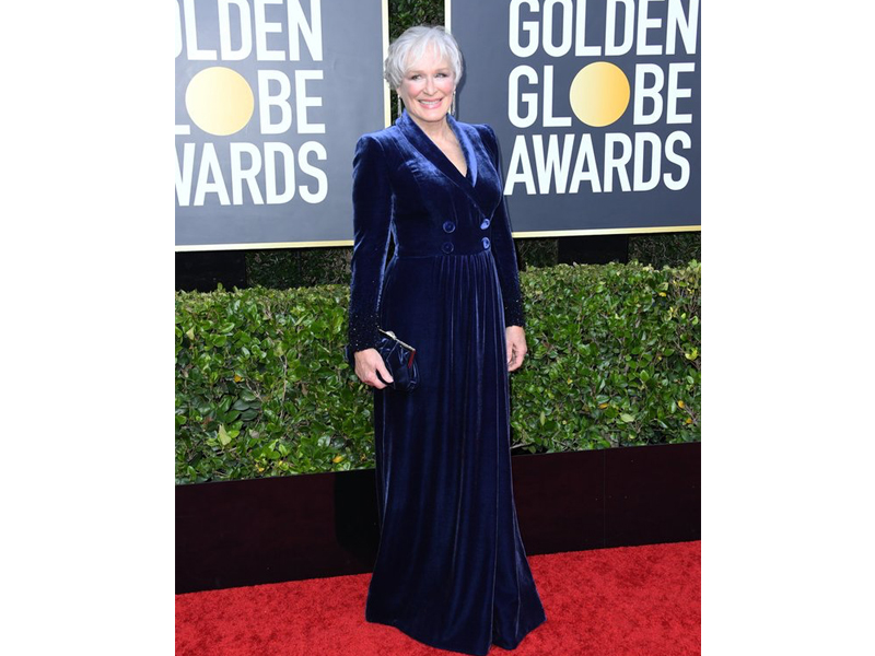Golden Globes 2020 Glenn Close Cartier