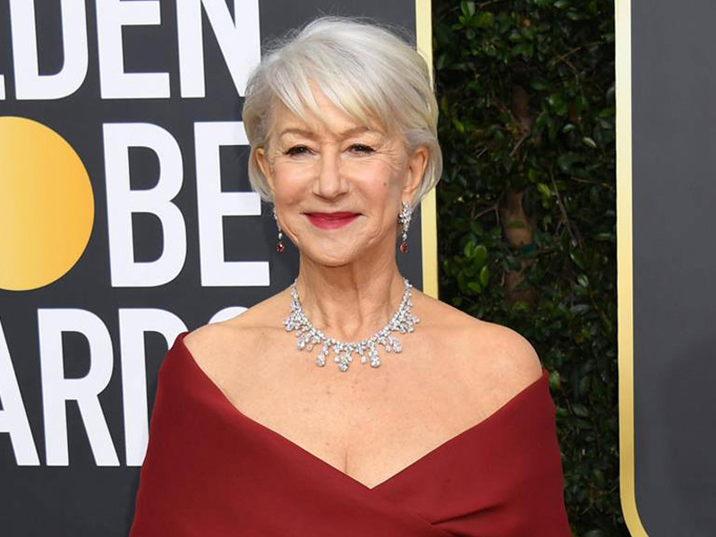 Golden Globes 2020 Helen Mirren Harry Winston