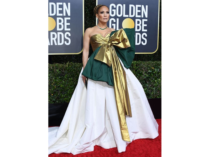 Golden Globes 2020 Jennifer Lopez Harry Winston