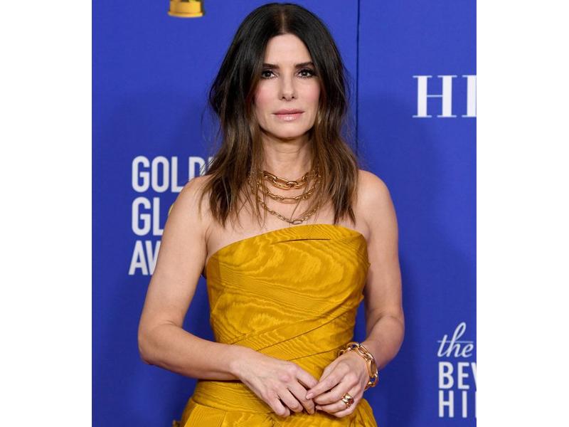 Golden Globes 2020 Sandra Bullock Pomellato