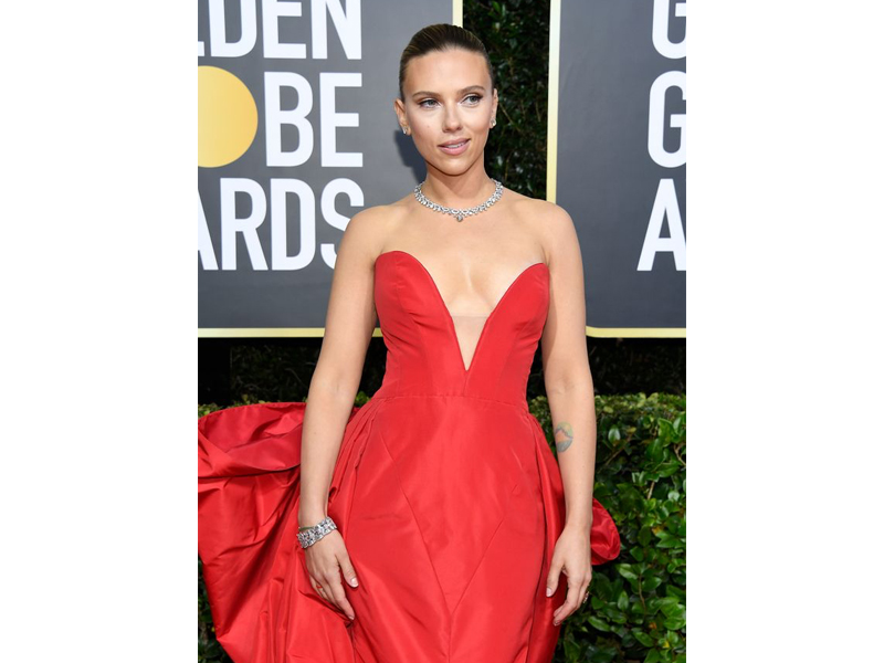 Golden Globes 2020 Scarlett Johansson Bvlgari