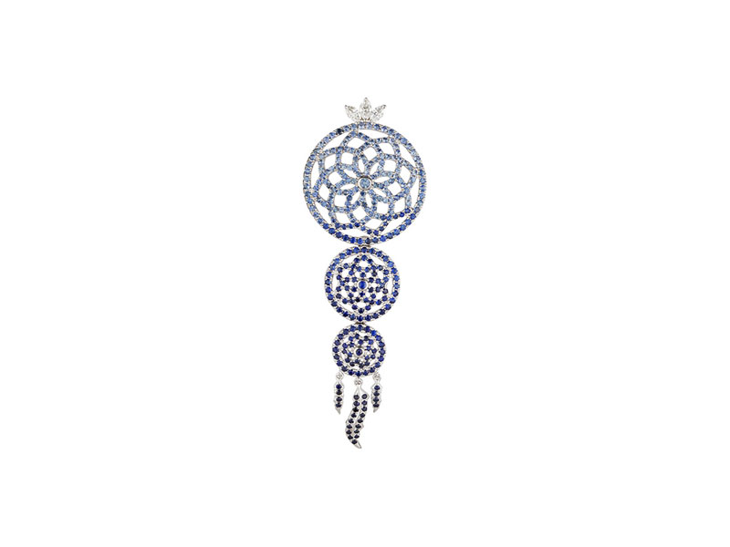 Laura Sayan - Boucle d'oreille Yeraz Dream Catcher