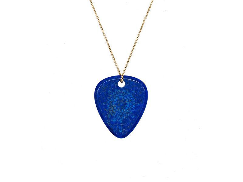 "Jenny Dee Jewelry - Mandala ""Gratitude"" lapis lazuli"