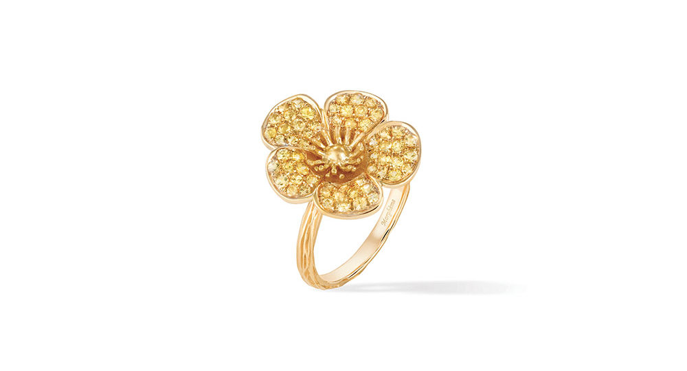 Buttercup Large Flower Ring