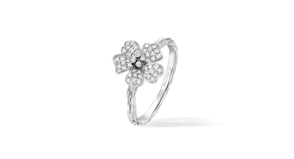 Cherry Blossom Medium Flower Ring
