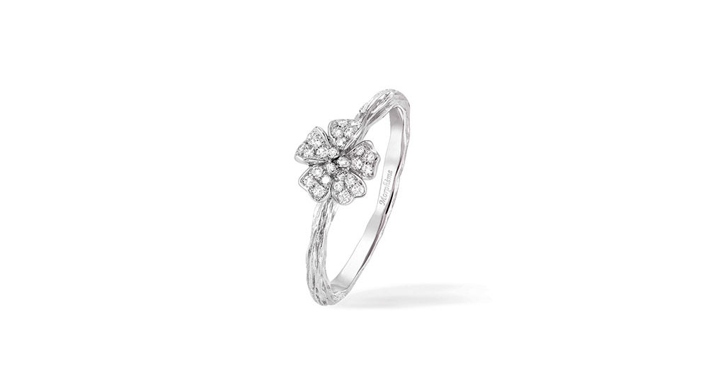 Cherry Blossom Small Flower Ring