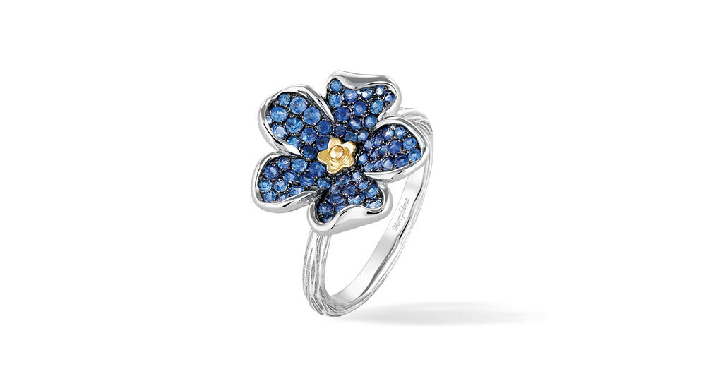 Forget-Me-Not Large Flower Ring