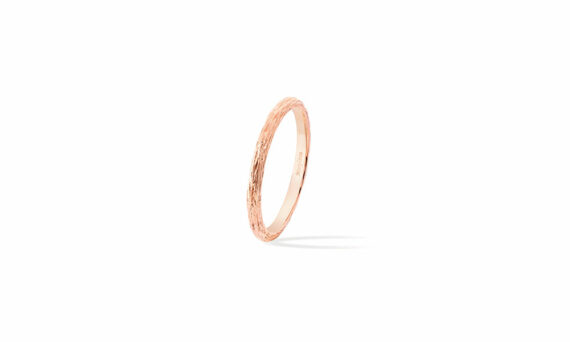Morphée Joaillerie Paris Golden Wood ring rose gold