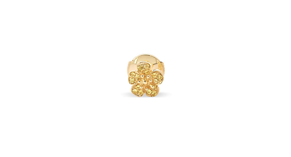 Buttercup Small Flower Stud