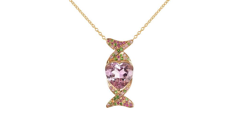 Caramella heart pendant