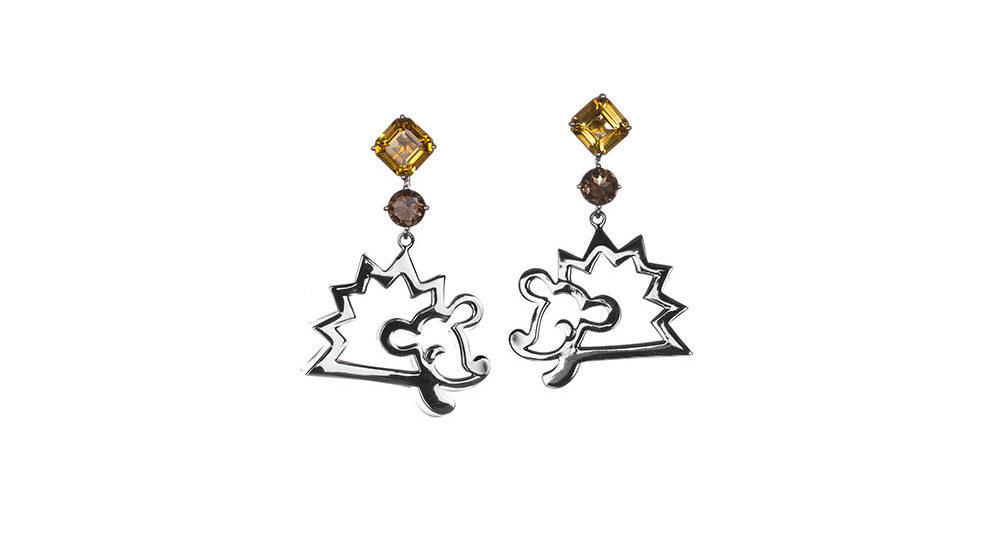 Favola Hedgehog earrings