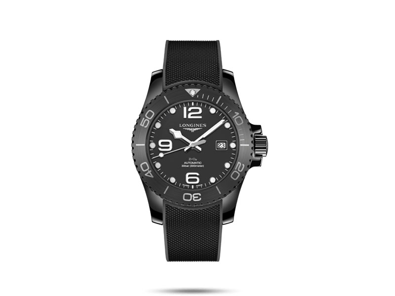 Longines - Montre Hydroconquest All-Black automatique en céramique noire