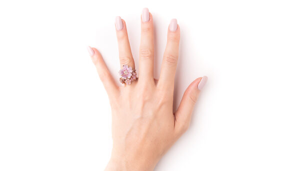 Morphée Joaillerie Paris Cherry Blossom ring