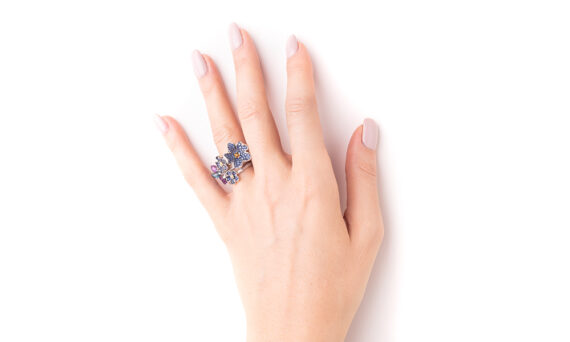 Morphée Joaillerie Paris Forget me not ring