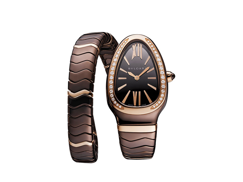 Bvlgari - Serpenti Spiga single-spiral