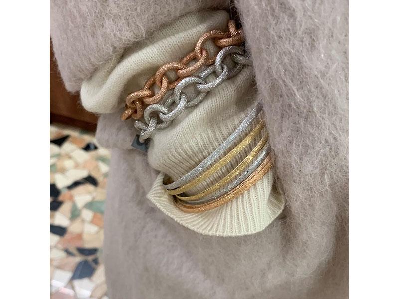 Carolina Bucci - Bracelets finition florentine en or 18ct
