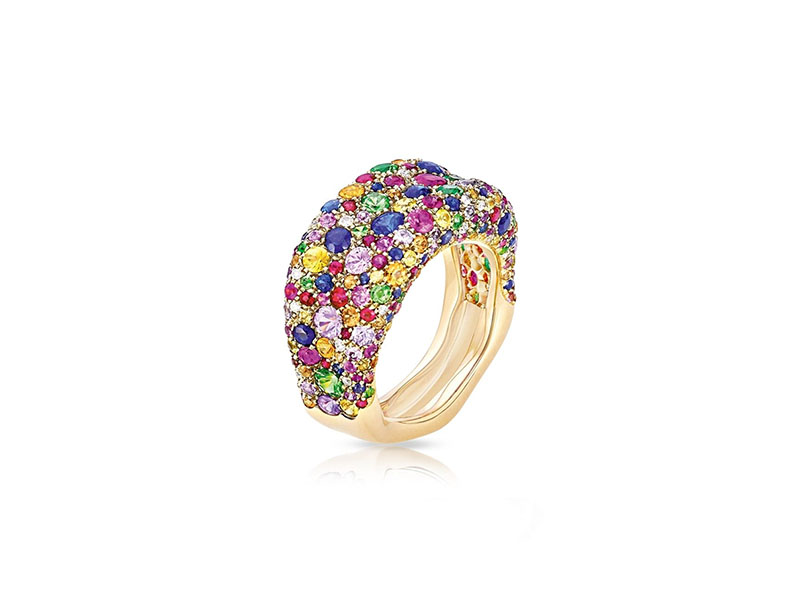 Fabergé - Bague Fine Emotion Multicolore