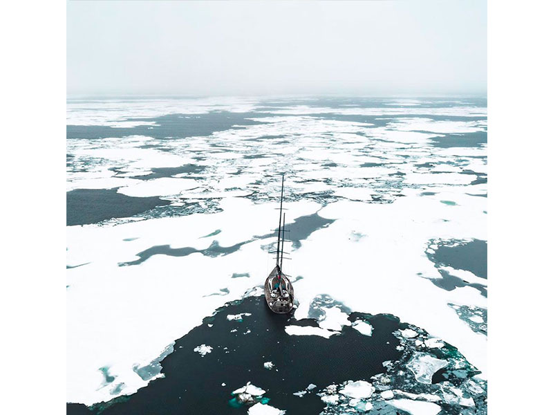 Expédition au pôle nord 2019 de Mike et Borge