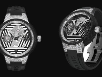 The tambour curve flying tourbillon: Louis Vuitton's New Milestone