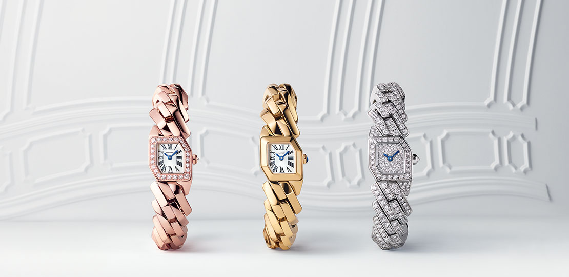Montres collection Maillon de Cartier