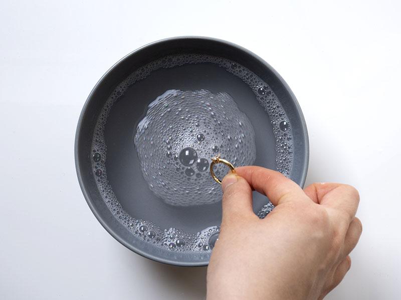 Nettoyez vos bijoux - Etape 3