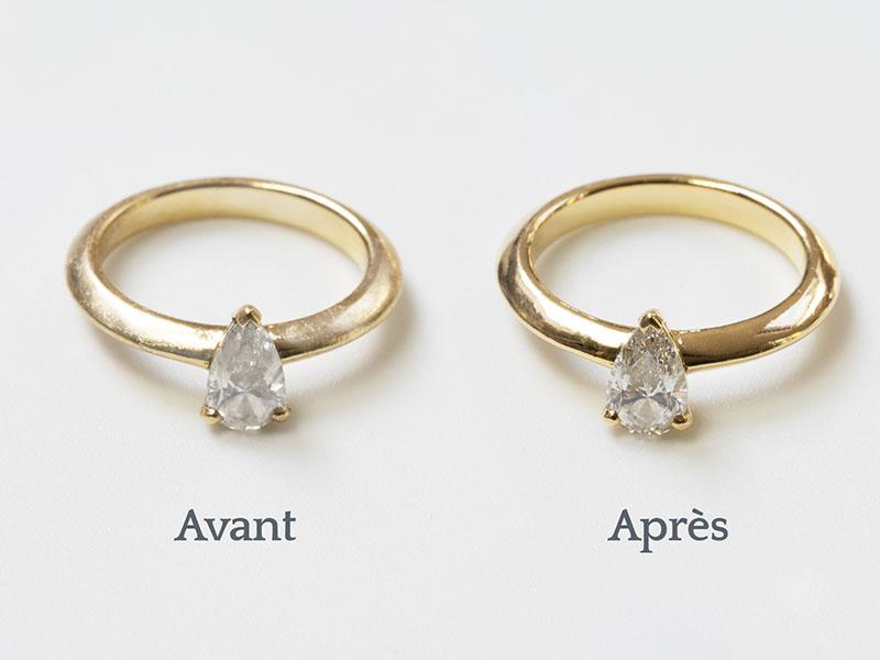 Nettoyez vos bijoux - Etape 5