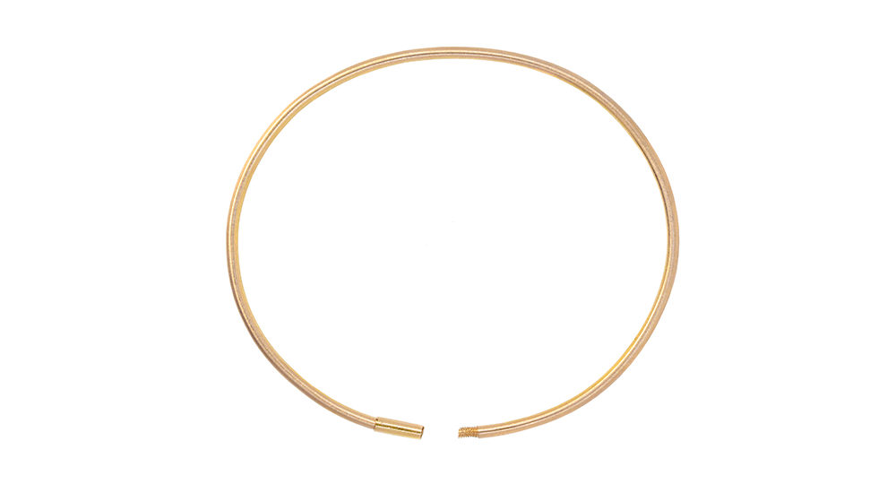 Eternity Matt Gold Bracelet