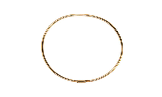 Rivka Nahmias Eternity Satin Gold Bracelet
