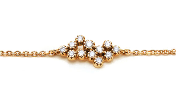 Magic Topkapi 12 Diamonds Bracelet yellow gold
