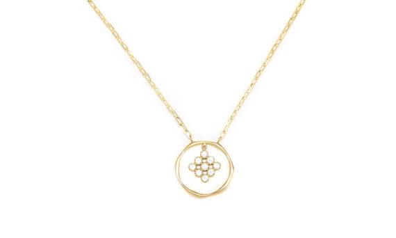 Magic Topkapi 9 Diamonds Necklace-1