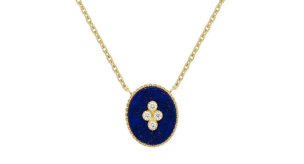 Collier La Rose des Alizés Lapis Lazuli