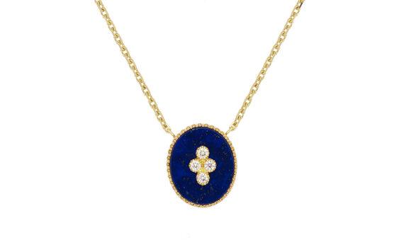 La Rose des Alizés lapis lazuli necklace-1