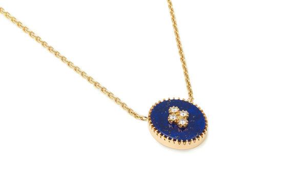 La Rose des Alizés lapis lazuli necklace-2