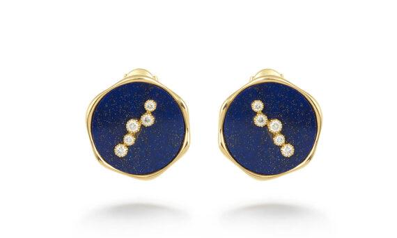 La Rose des Alizés round earrings