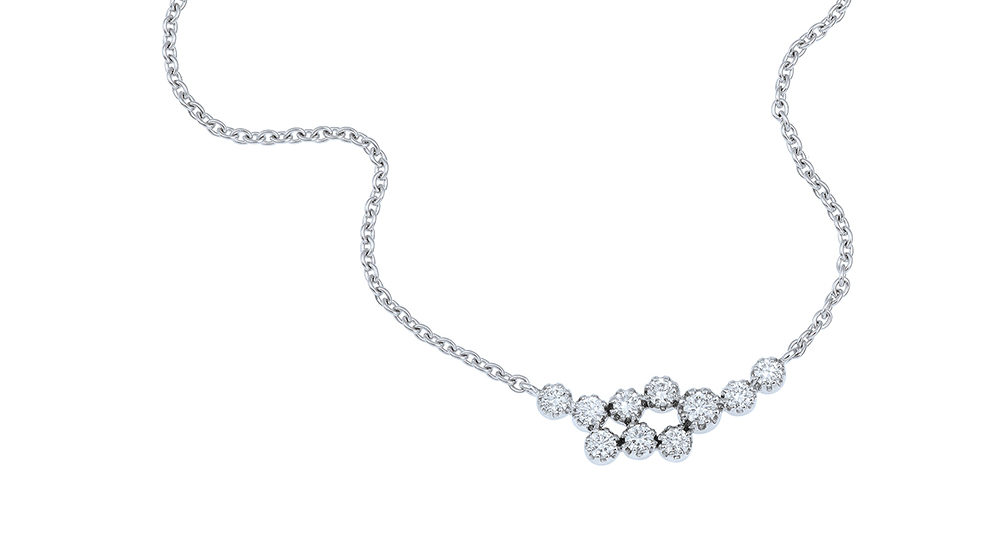 Magic Topkapi 10 Diamonds Necklace