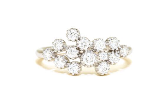 Maison Artaner - Magic Topkapi 14 ring white gold