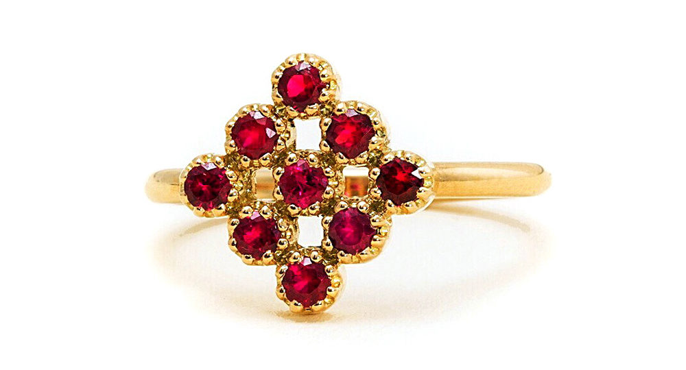 Magic Topkapi Ruby Ring