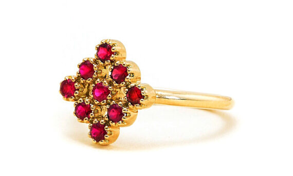 Maison Artaner Magic Topkapi Ruby Ring