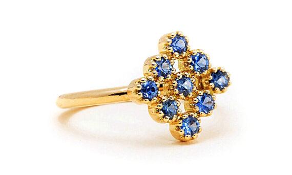 Maison Artaner Magic Topkapi Sapphire Ring-3