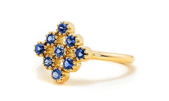 Maison Artaner Magic Topkapi Sapphire Ring-2