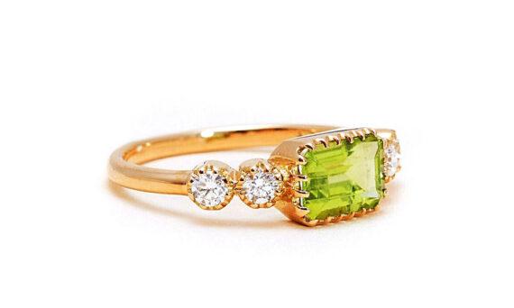 Antoinette peridot ring-3