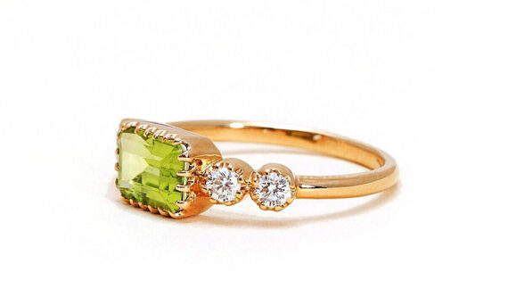 Antoinette peridot ring-2