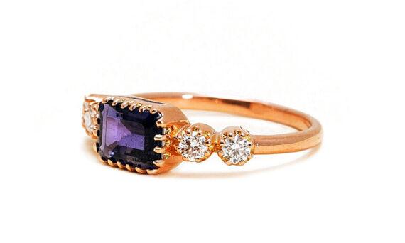Antoinette iolite ring-2