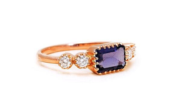 Antoinette iolite ring-3