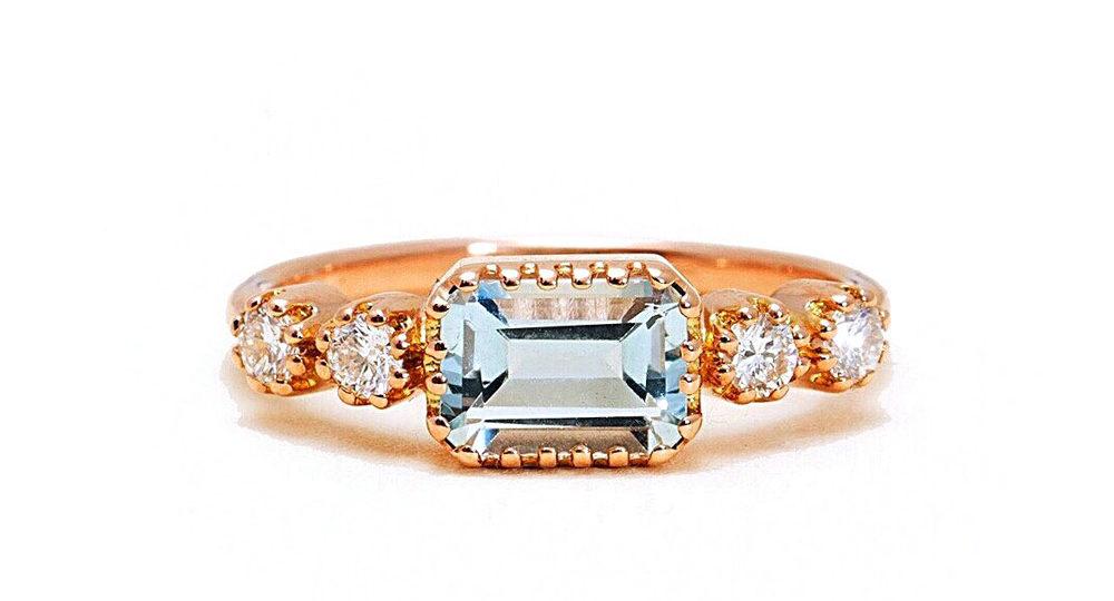 Antoinette Topaz Ring