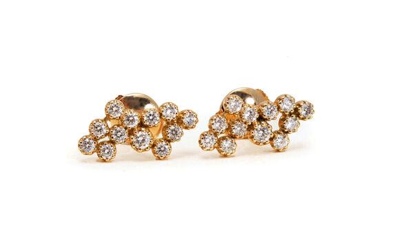 Magic Topkapi 24 earrings yellow gold
