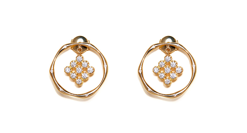 Boucles d'oreilles 30 Diamants Magic Topkapi