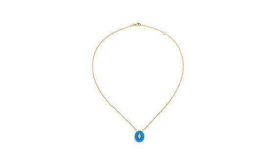 La Rose des Alizés turquoise necklace-2