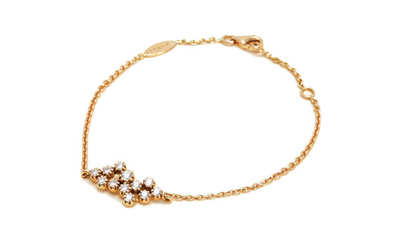 Maison Artaner Magic Topkapi 12 Diamonds Bracelet Yellow-3